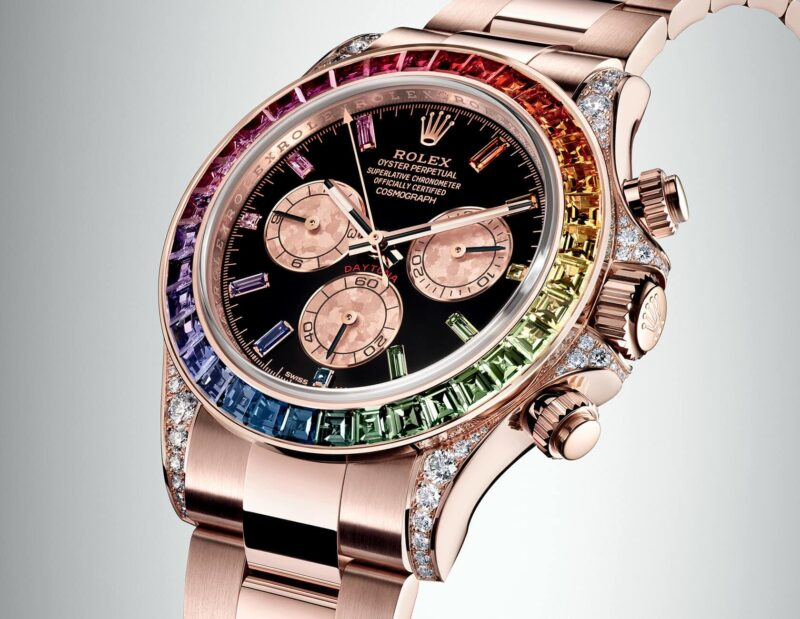 New 2018 Cosmograph Daytona Rainbow